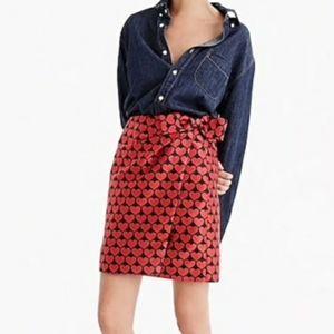 J. Crew Faux Wrap Mini Skirt